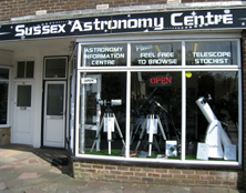 telescopes, Worthing, Sussex
